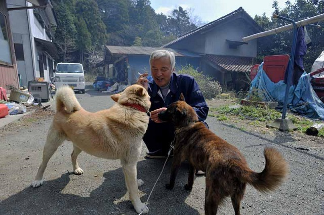 10 Years After Fukushima Nuclear Disaster, Two Men Are Still Living There Taking Care of Everyone's Pets